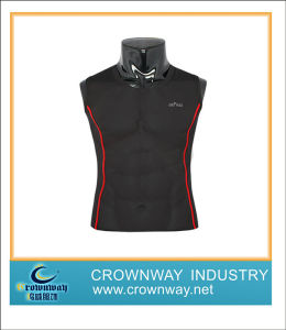 Sleeveless Men Compression T Shirt pictures & photos