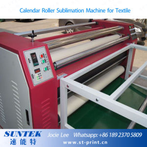 Pneumatic Roller Heat Press Machine for Fabric, Blanket pictures & photos