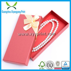 with Logo Printing Custom Size Kraft Paper Jewelry Necklace Box pictures & photos