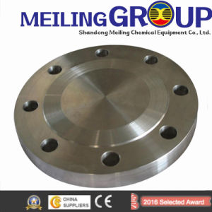 ANSI A105 RF Carbon Steel Forged Blind Pipe Flange pictures & photos