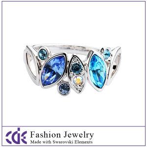 Swarovski Crystal Element Rings-R0096