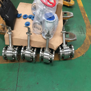 Long Stem Cryogenic Flange Ss316 Ball Valve pictures & photos
