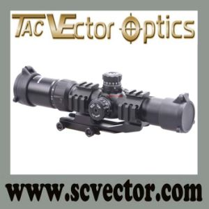 Vector Optics Tactical Mustang 1.5-4X30 Hunting Scope Chevron Reticle W/ One Piece Mount pictures & photos