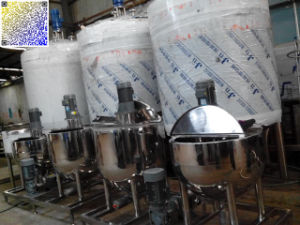 Cooking Vat of Paste / Jam Processing Line pictures & photos