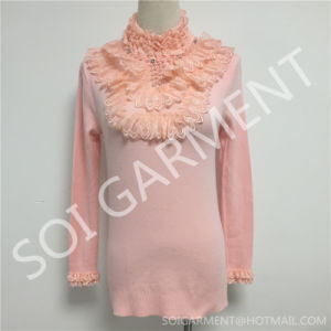 Winter Fashion Turtleneck Women Knitted Slim Fit Sweater (SOITSW-12)