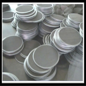 Stainless Steel 10 Micron Filter Mesh Disc pictures & photos