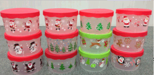 Promotional Food Container Christmas Gifts pictures & photos