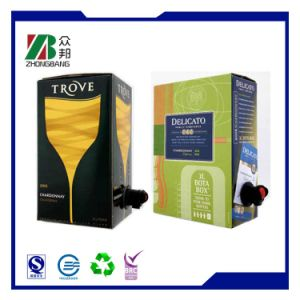 Customized Plastic Packaging Wine Bag in Box with Valve pictures & photos