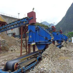 Twin-Shaft Linear Vibrating Screen / Vibratory Screen pictures & photos