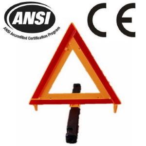Reflective Safety Traffic Warning Triangle for Roadway (JMC-200Q) pictures & photos