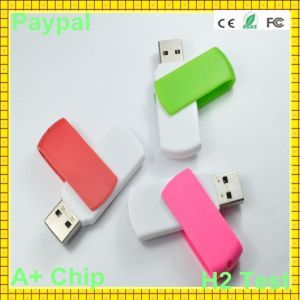 High Speed Colorful Plastic Swivel USB Flash Drive (GC-683) pictures & photos