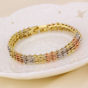 Xuping Jewelry Multicolor Fashion Bracelet pictures & photos