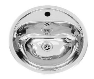 Stainless Steel Round Bathroom Sink, Vanity Basin, Washroom Sink, Toliet  Sink, Lavatory Sink (T20)