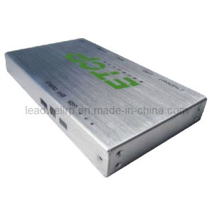 Surface Brushed Sheet Metal Prototype for DVD Player (LW-03004) pictures & photos