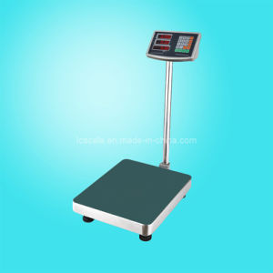 Electronic Platform Scale (LC TCS-A6 S with Stainless Steel Indicator) pictures & photos