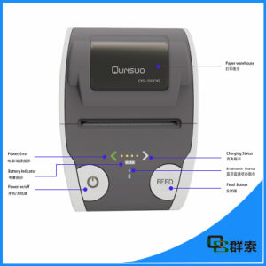 Mobile Bluetooth Android Thermal Printer Rugged with Free Sdk pictures & photos