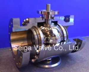 API High Pressure Fixed Forged Steel Ball Valve pictures & photos
