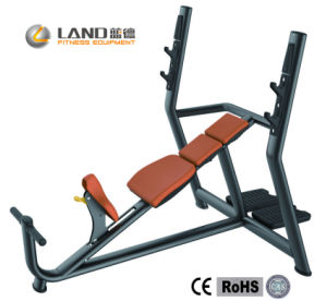 CE and RoHS Approved Ld-7019 Incline Bench Commercial Fitness Equipment