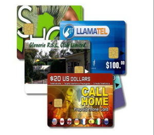 Sle/Atmel Contact IC Chip Smart Cards with ISO7816 Size