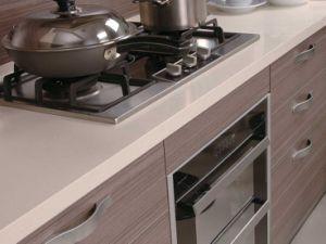 Mpderm Melamine Kitchen Cabinet (zg-026) pictures & photos