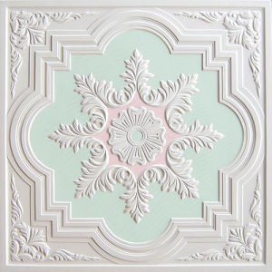 Colorful Gypsum Board Artistic Ceiling-S005gp