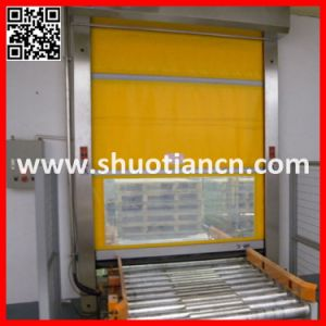 Food Processing Factory Industrial Quick Door (ST-001) pictures & photos