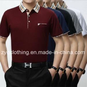 Fashion T-Shirt, Men′s Slim Fit Polo T-Shirt pictures & photos