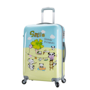 Lovely Kids PC Luggage Printed Travel Bag Set 20 Inch 24 Inch 28 Inch pictures & photos