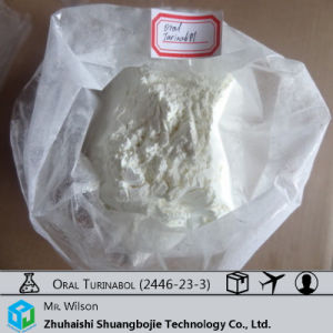 Oral Turinabol Anabolic Steroid 4-Chlorodehydromethyltestosterone 2446-23-3