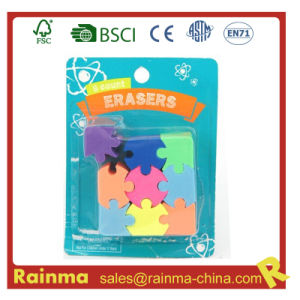 High Quality Fancy Color Puzzle Rubber Eraser pictures & photos