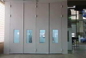 European Standard Industrial Painting Booth pictures & photos