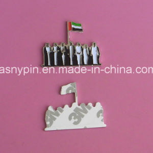 UAE 7 Sheikhs Magnet Badge for 44 National Day pictures & photos