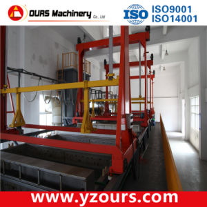 High-Quality Powder Coating Line with Tank Leaching Pretreatment pictures & photos