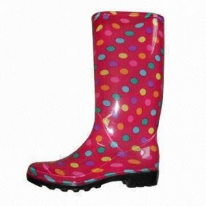 Women′s Injection Rain Boots pictures & photos