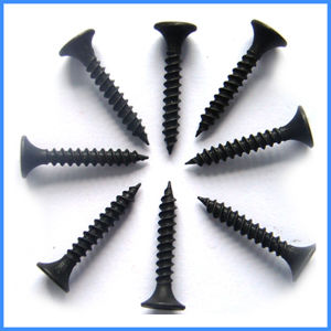 Black Harden Phosphatized Fine Thread Drywall Screw pictures & photos