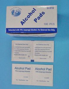Alcohol Pad/Alcohol Swab /Alcohol Prep Pad pictures & photos