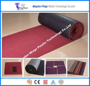 PVC Double & Single Color Floor Mat with Diamond Backing pictures & photos