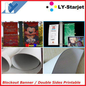 Blockout Banner for Double Side Printing (Flex Blockout Banner) pictures & photos