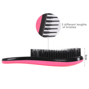 2016 Fashion Magic Detangling Handle Shower Hair Brush Comb pictures & photos