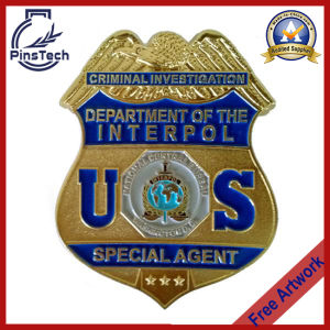 Welcome to Custom 3D Eagle Top Badge, Us Interpol Badge pictures & photos