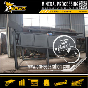 Gravity Gold Ore Recovery Vibrating Washing Machine Drum Trommel Screen pictures & photos
