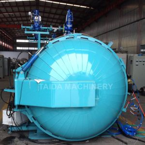 1500X6000mm High Quality Siemenz PLC Rubber Rollers Vulcanizing Autoclave Vulcanizer pictures & photos