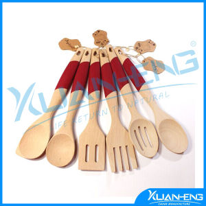 Wooden Fork & Spoon Utensil Sets pictures & photos