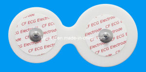 Disposable ECG Monitoring Electrode, PE Foam Backing, 40*45mm pictures & photos