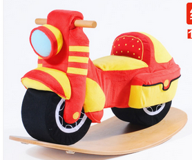 Factory Supply Wooden Rocking Toy Rocking Motorcycle pictures & photos