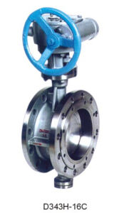 Tht Custom Valve Flange Connnected Metal-Seat Butterfly Valve pictures & photos