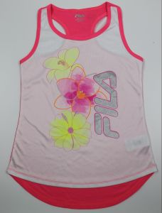 Girls Performa Sports Tank Make of 100%Polyester pictures & photos