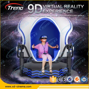 Attractive 360 Degree Rotation Virtual Reality 9d Egg Virtual Reality Cinema pictures & photos