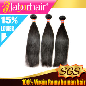 7A Grade Natural Top Quality Human Malaysian Silky Straight Virgin Hair Extension Lbh 132 pictures & photos