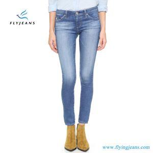 2017 Factory Hot Sale Fashion Women/Ladies Skinny Denim Jeans (pants E. P. 415) pictures & photos